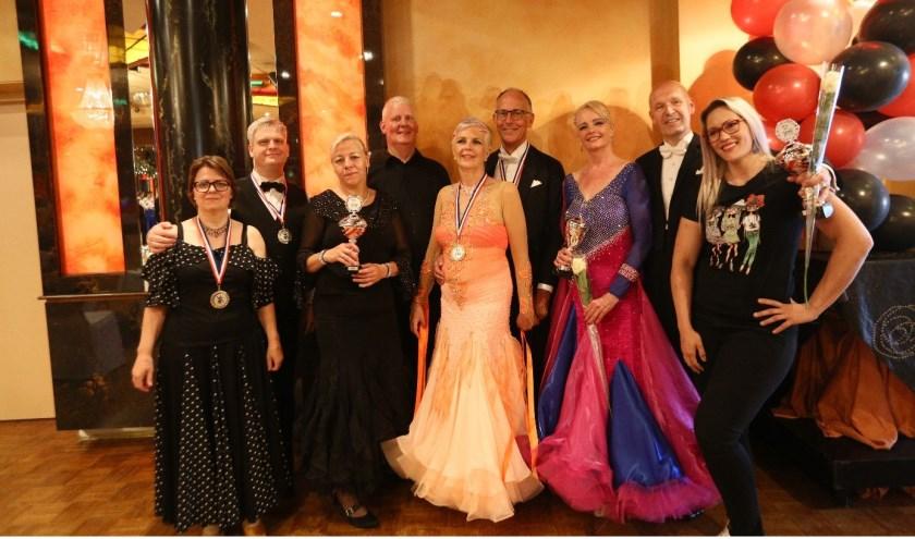 Almeloërs Nederlands Kampioen ballroomdansen