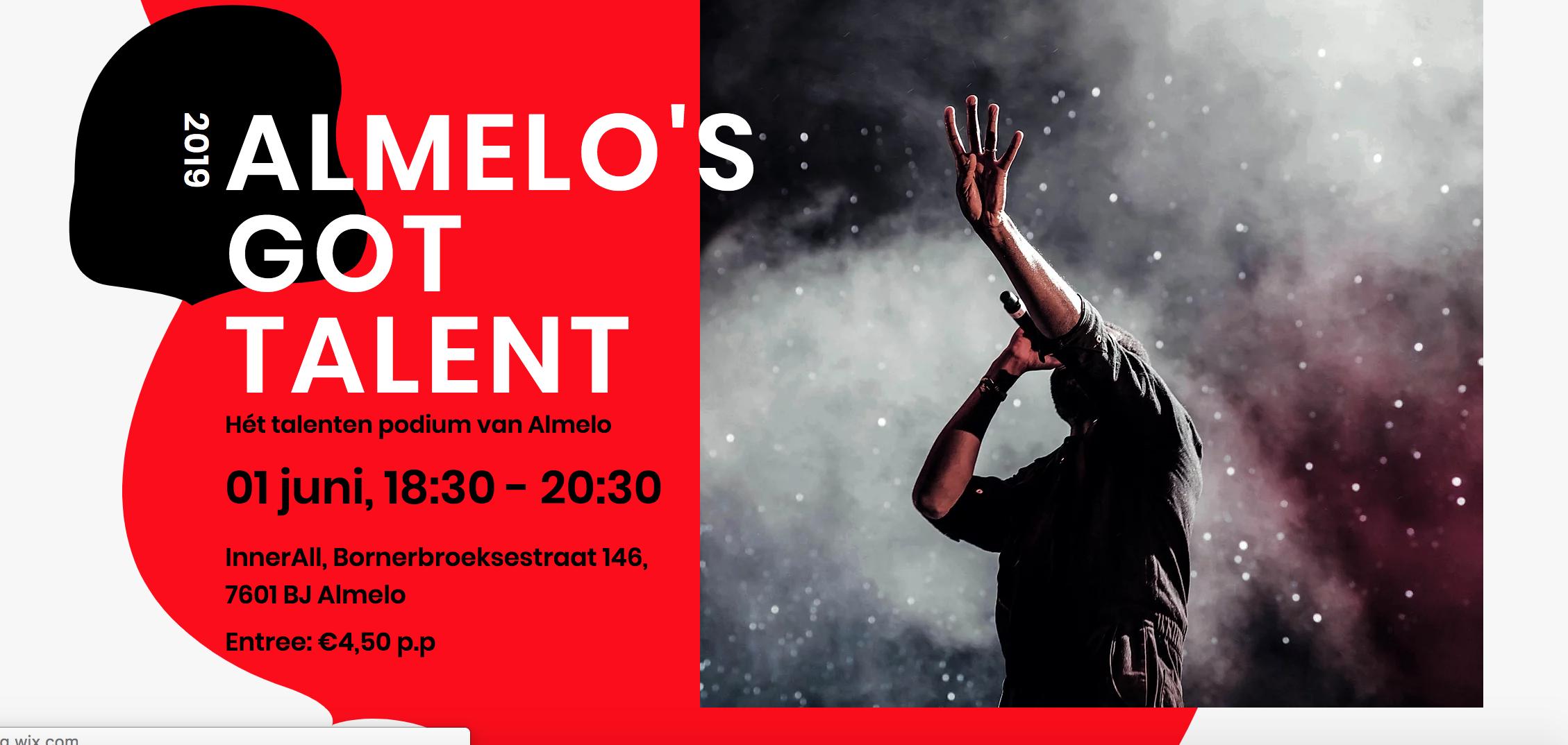 Almelo's Got Talent dit jaar voor iedereen
